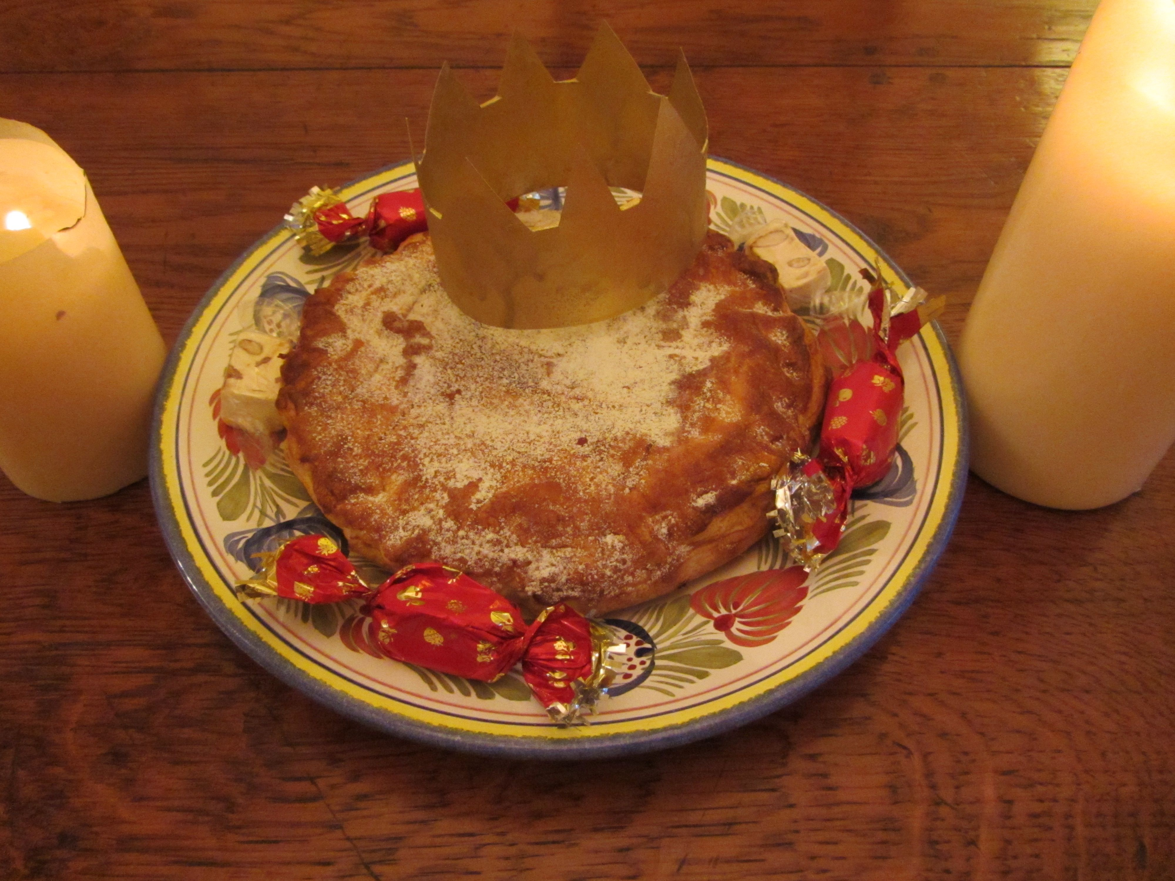 Recipe for galette des rois - Three Kings' Cake | agreenmouse.com