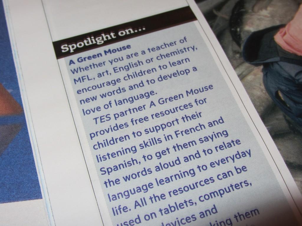TES Magazine
