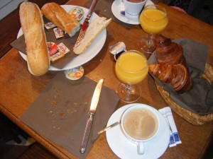 Image for Breakfast in French - Le Petit Déjeuner